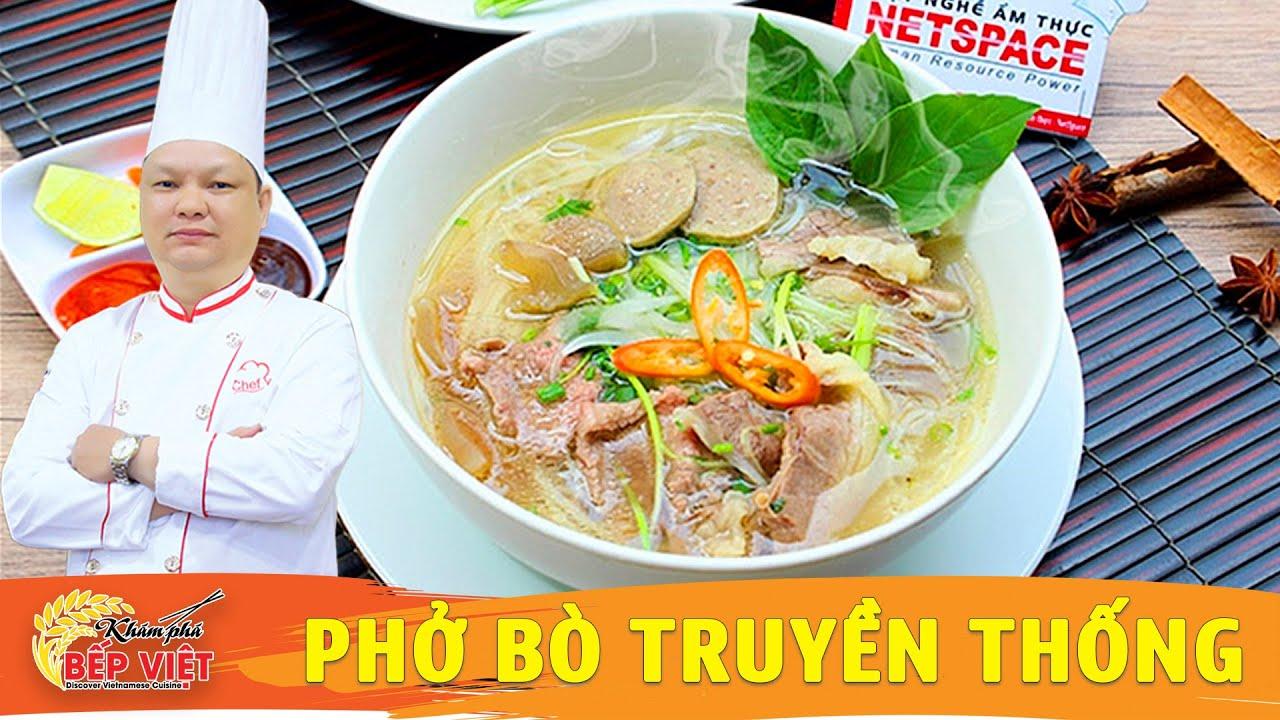 Dạy bí quyết nấu Phở Bò thơm ngon | How to cook Pho Bo | Vietnamese Beef Noodle soup (Pho)