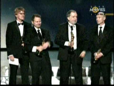 """OSCAR AWARDS 2010 HIGHLIGHTS WINNER MOVIE AVTAR """"VISUAL EFFECTS"""""""