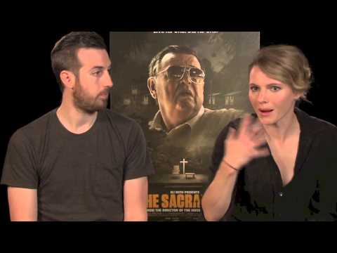 THE SACRAMENT Interview with Ti West & Amy Seimetz