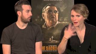 THE SACRAMENT Interview with Ti West & Amy Seimetz