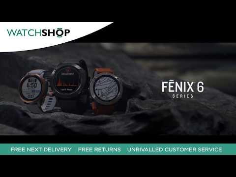 Watch Shop | Garmin | Fenix 6 Series