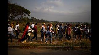 Para llegar al Venezuela Aid Live, migrantes lucharon contra viento y marea | Noticias Caracol