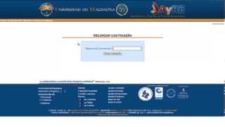 Proceso de Inscripción Universidad del Magdalena