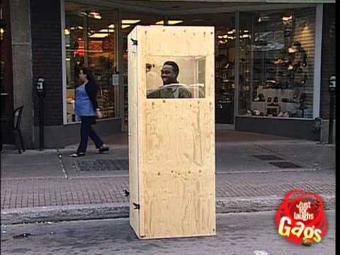 Caught in a box just for laughs hidden camera prank!