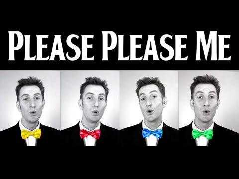 Please Please Me (The Beatles) - A Cappella Barbershop Quartet