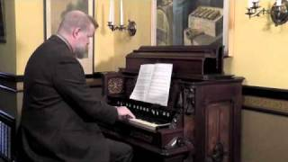 DUPRÉ:  Souvenir, played on Worcester parlor organ