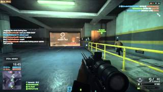Sniper Pro of Doom | Battlefield: Hardline BETA Gameplay