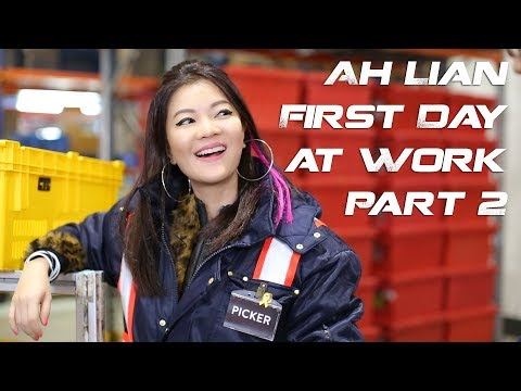 Ah Lian's exciting first day at work continues! Who will finally get fresh with Ah Lian?