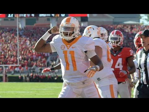 Tennessee Hail Mary Stuns Georgia In Athens | CampusInsiders