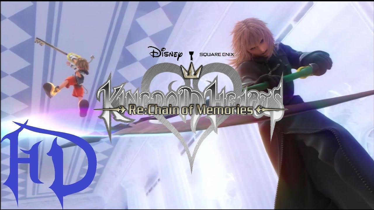 kingdom hearts rechain of memories quotthe moviequot hd youtube