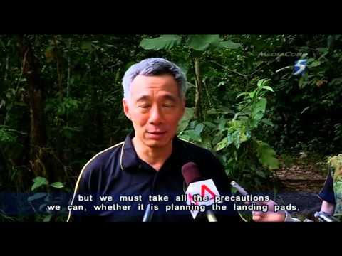 PM Lee Visit SAF Brunei's Temburong Jungle Training  25Apr2013