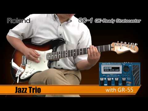 GC-1 GK-Ready Stratocaster®: V-Guitar with GR-55 Demo Performed by