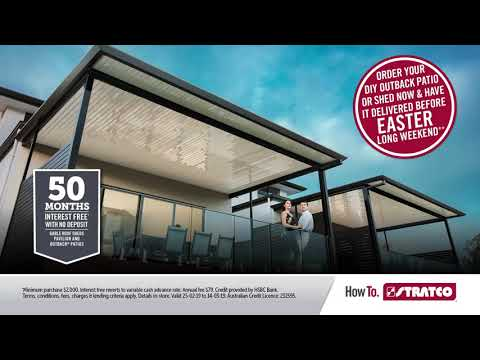 Stratco's Patio Big Sale | 50 Months Interest Free