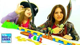 Occhio Allo Squalo Challenge divertente gioco da tavolo per bambini e ragazzi - sfida lo squalo!