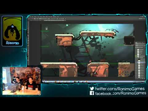 Ronimo Live Stream - July 22nd, 2015 (Starstorm Map Concept Art)