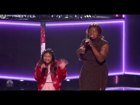 Angelica Hale, Kechi and Kelly Clarks NAIL IT TOGETHER  America´s Got Talent 2017!