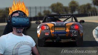 iRACING VR - ON RAGE EN MX 5 - HTC VIVE