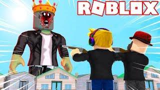 DESTROY A ZOMBIE KING dans ROBLOX ZOMBIE ATTACK