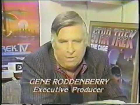 Gene Roddenberry Star Trek The Next Generation Pre Air Interview