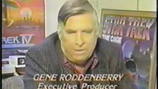 Gene Roddenberry Star Trek The Next Generation Pre Air Interview