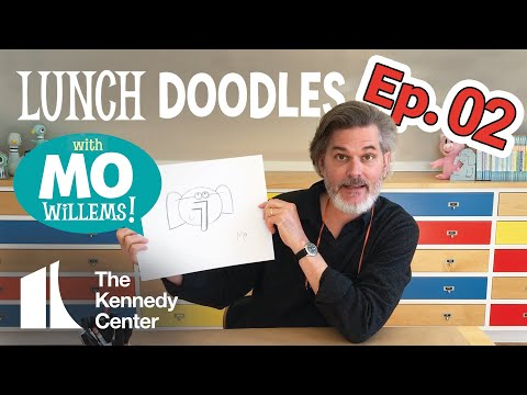 LUNCH DOODLES with Mo Willems!  Episode 02