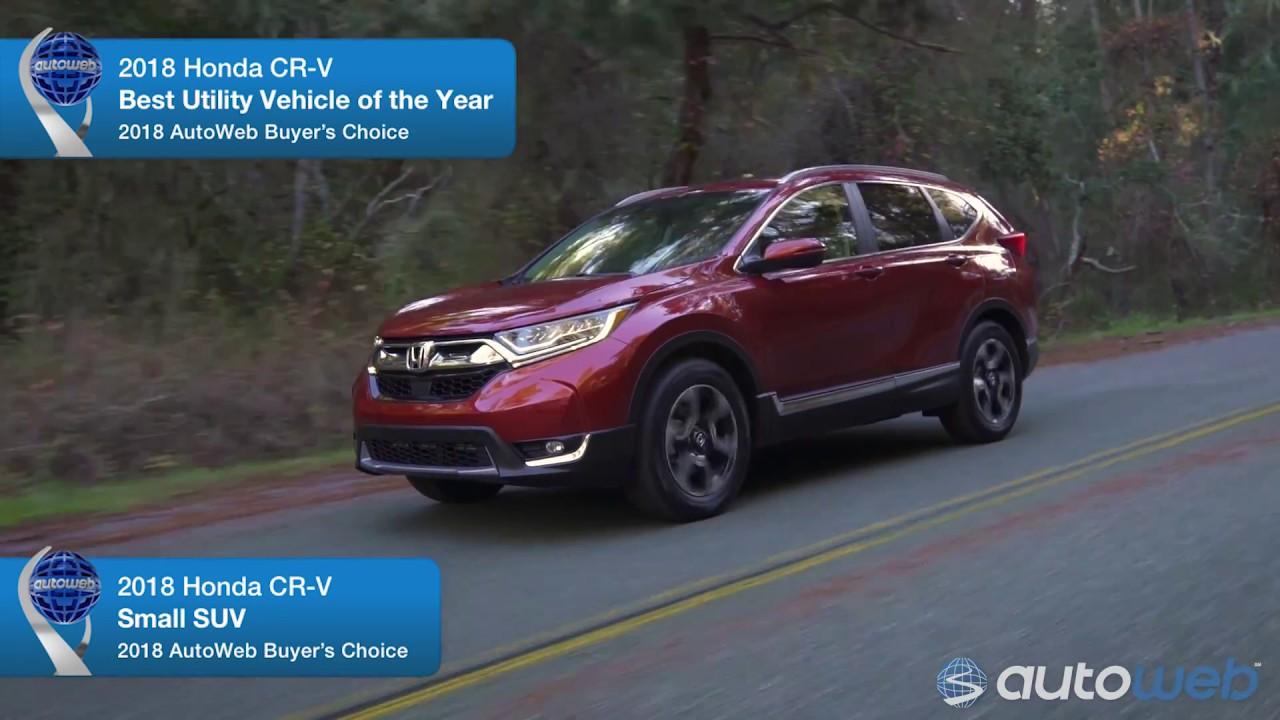 Best Small Suv 2018 Honda Cr V Autoweb Buyer S Choice Award