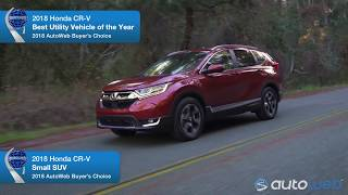 Best Small SUV: 2018 Honda CR-V - AutoWeb Buyer's Choice Award Winner