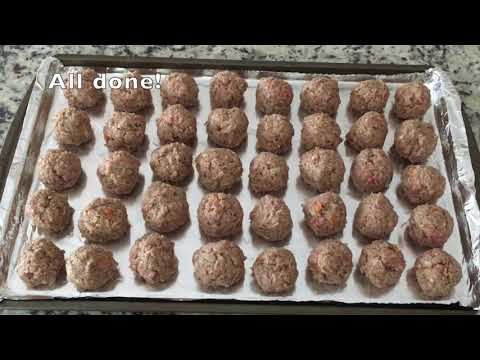 30-minute-meatballs-with-carrots-鲜嫩多汁胡萝卜牛肉丸-#meatballs-#牛肉丸-#carrots-#胡萝卜-#meatballsandspaghetti