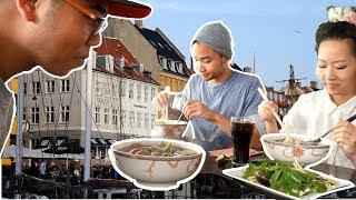 Good Vietnamese Food in Denmark?  Danish PHO? +  Copenhagen Apartment Tour
