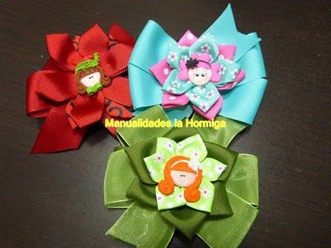 Como Hacer Moños Faciles Con Liston Ribbons For Easy Hair