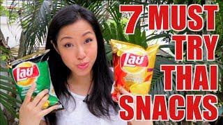 7 Must-Try Thai Supermarket Snacks - Hot Thai Kitchen!