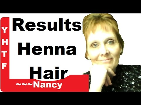 Results Of Henna Light Brown Application Youtube
