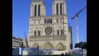 巴黎圣母院失火一周年 钟声响彻以示纪念