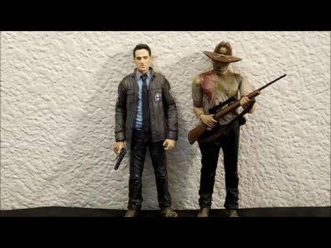 The Walking Dead TV series 10 Constable Rick Grimes Action Figure