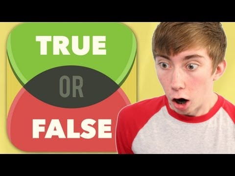 TRUE OR FALSE TEST YOUR WITS! (iPhone Gameplay Video)