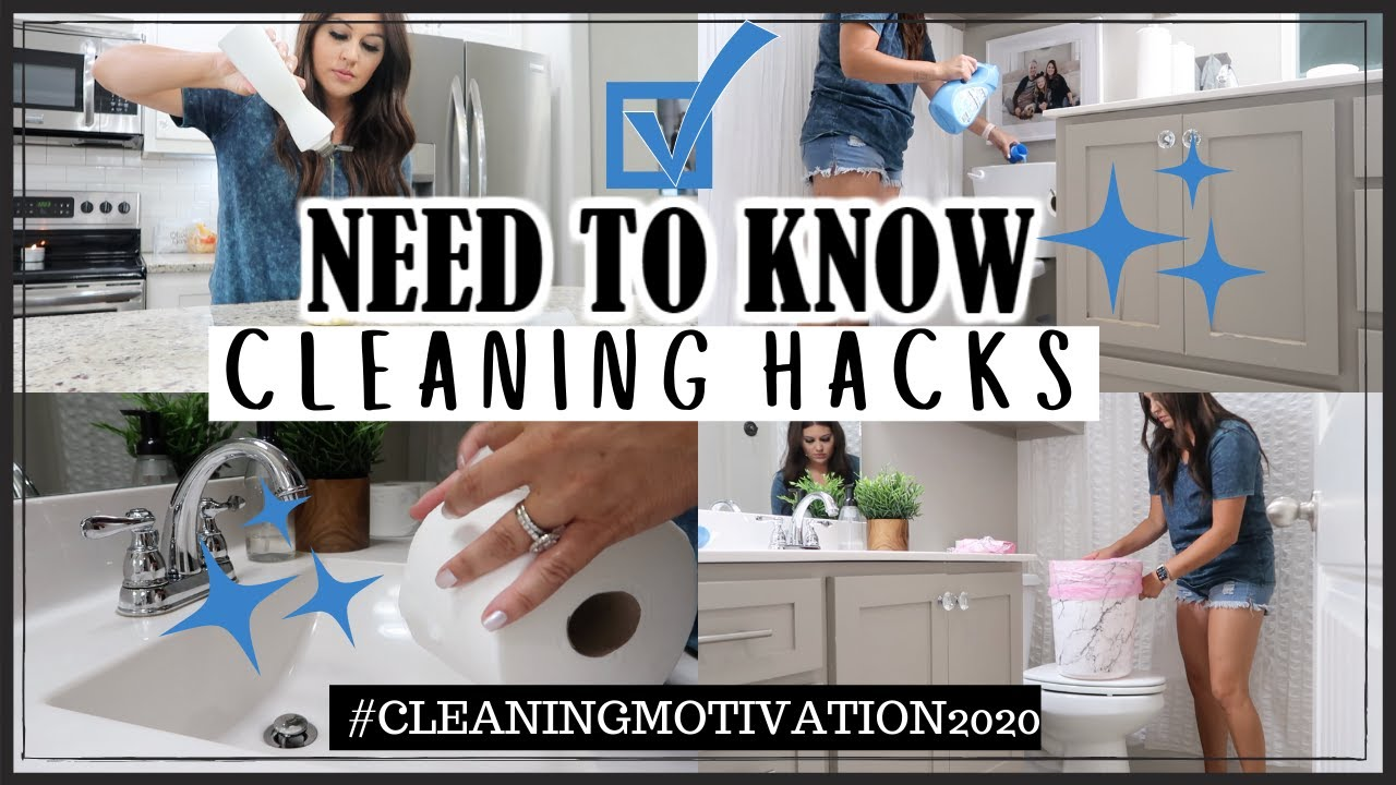 NEED TO KNOW CLEANING HACKS | CLEANING TIPS FOR YOUR HOME | PRO CLEANING HACKS