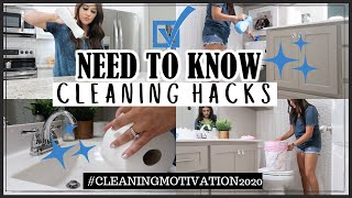 NEED TO KNOW CLEĄNING HACKS | CLEANING TIPS FOR YOUR HOME | PRO CLEANING HACKS