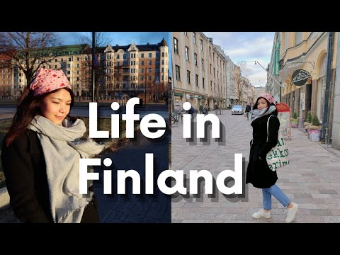 Weekend in Helsinki- Cafe, Thrifting, Seaside walk VLOG