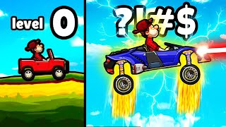 Hill Climb Racing 2 - MAX LEVEL CAR UNLOCKED?