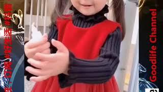 抖音 Goodlife Channel 娱乐分享 萁萁baby qiqi lucu 妈妈我爱苹果 #007