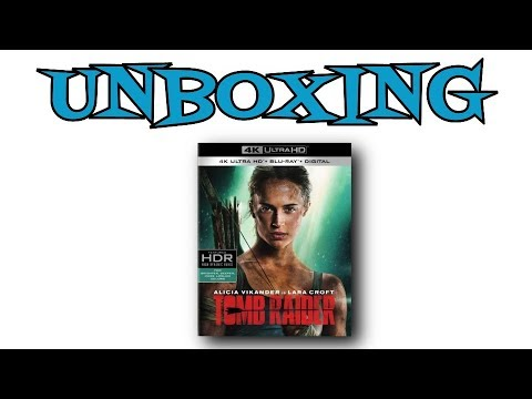 Tomb Raider 4K UHD Unboxing