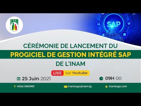 Cérémonie de Lancement du Progiciel de Gestion Intégré SAP de l'INAM