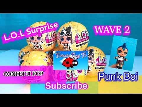 LOL Surprise Punk Boi with Realistic Boy Parts ! ?