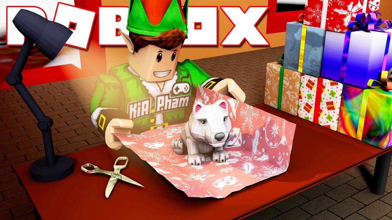 Roblox | YÊU TINH KIA LÀM ĐỒ CHƠI CHO ÔNG GIÀ NOEL ĐI PHÁT - Christmas Rush | KiA Phạm