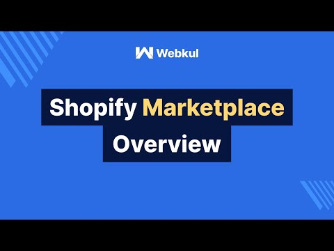 Marketplace for Shopify