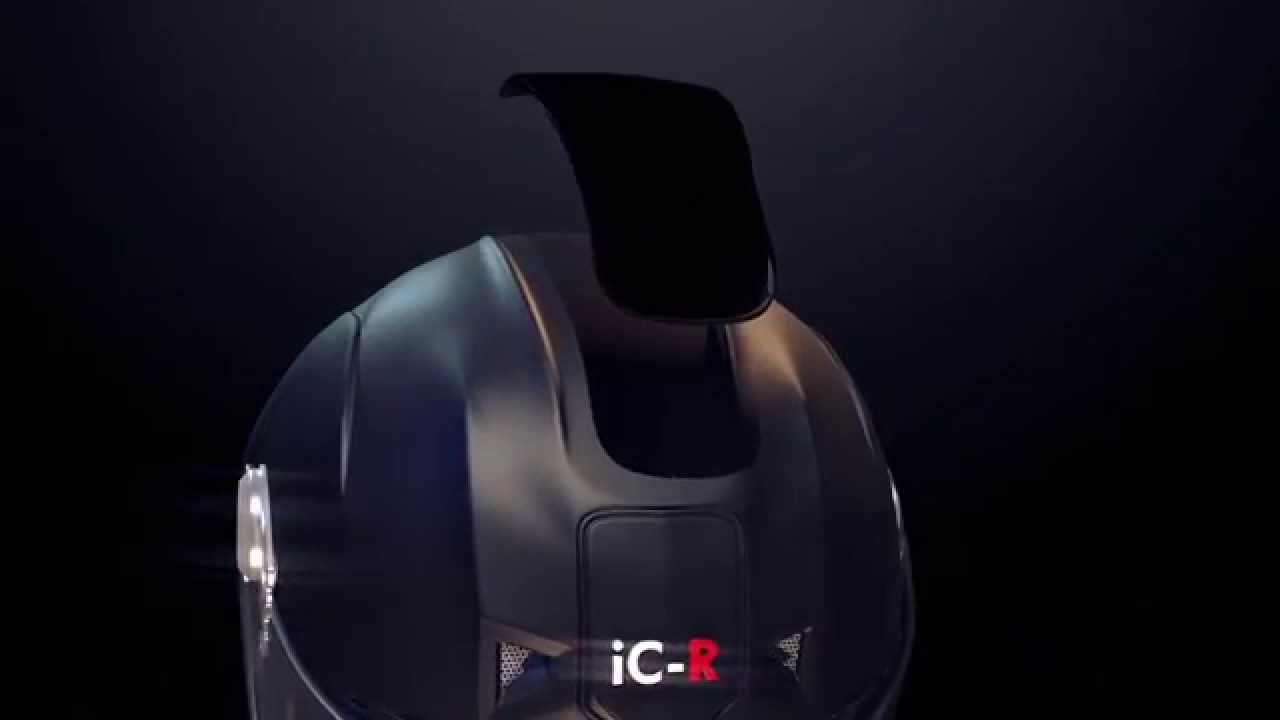 画像: The Official iC-R Motorcycle Helmet Concept Video youtu.be