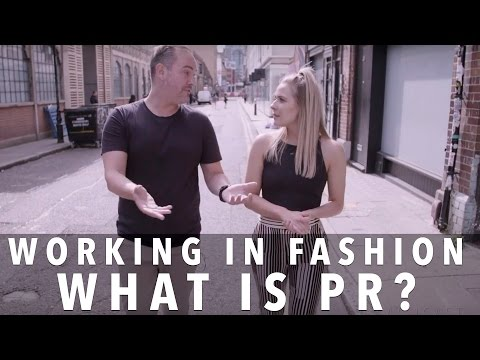 What Is PR? | Celebrity, Fashion and PR Expert Nick Ede | FASHCAST