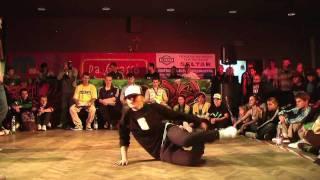 1 vs 1 - BBoy Siano vs BGirl Lady Flow