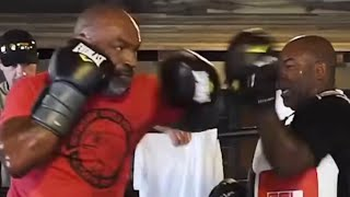 MIKE TYSON NEW EXPLOSIVE TRAINING VIDEO