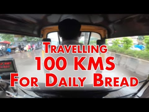 Travelling 100 Kms For Daily Bread | Mumbai India | Travel Vlogs #01